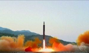 Conselho de Segurança da ONU discute ações contra a Coreia do Norte