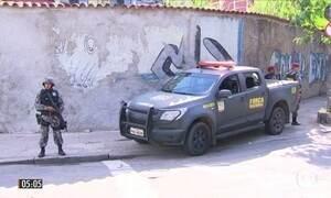 Força Nacional reforça segurança nas ruas do RJ