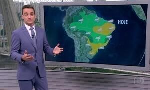 Clima deve ficar frio nas regiões Sul e Sudeste até o fim de semana
