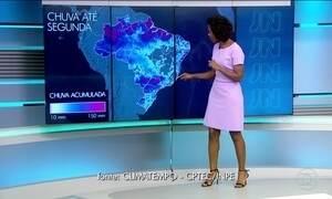 Confira a previsão do tempo para quarta-feira (17) em todo o país