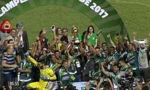Luverdense empata com o Paysandu e conquista a Copa Verde