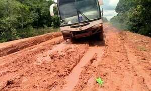 BR 163, no Pará, tem trecho de 35km intransitável por causa da chuva