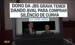 Gravações revelam negociações entre vários políticos e o dono do frigorífico JBS