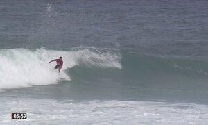 Mineirinho conquista etapa brasileira do Campeonato Mundial de Surf
