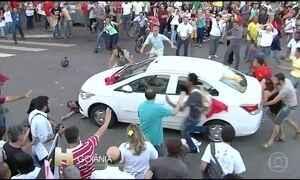 Milhares de pessoas vãs às ruas pedir a saída do presidente Temer