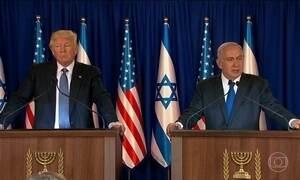 Trump tenta levar Israel a algum tipo de entendimento com os palestinos
