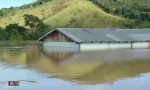 Centenas de índios ficam desabrigados após cheias de rios em RR
