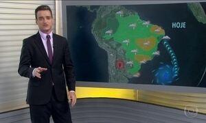 Previsão é de chuva forte em parte da Região Sul