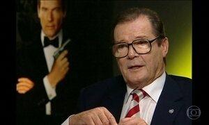 Roger Moore morre nesta terça-feira (23) na Suíça