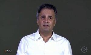 Aécio Neves usa redes sociais para pedir desculpas a eleitores e se defender de denúncias