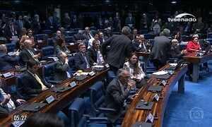 Uso de Forças Armadas divide opinião de senadores do partido de Michel Temer