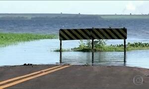Maio mais chuvoso em 50 anos no noroeste de SP enche reservatório de usina
