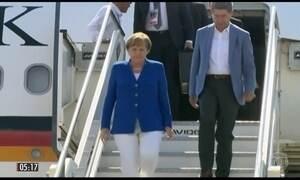 Encontro na Itália reúne líderes do G-7