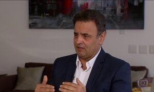Defesa de Aécio Neves entrega perguntas à PF sobre conversa gravada