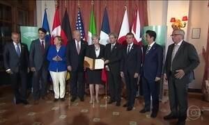 Acordo entre os sete países mais poderosos do mundo contra terrorismo é assinado na Itália