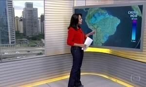 Três estados da Região Sul têm alertas de temporal