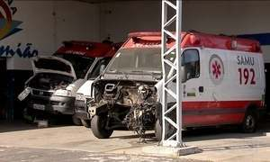 Ambulâncias quebradas prejudicam atendimento à população em Fortaleza