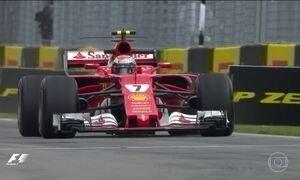Líderes da F1 terminam dia preocupados com o desempenho de um campeão mundial