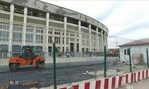 Rede Globo começa a acompanhar os preparativos para a Copa do Mundo da Rússia