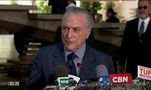 Presidente Michel Temer aposta em força no Congresso para aprovar reformas