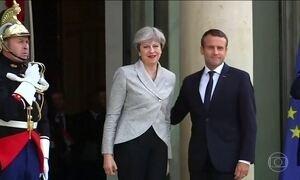 Theresa May começa negociações para sair da União Europeia, o chamado Brexit