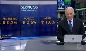Setor de serviços tem o melhor resultado para o mês de abril em quatro anos