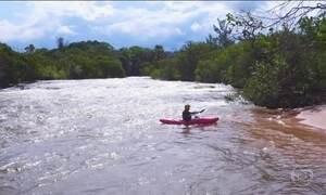 Cidade do Mato Grosso é um dos destinos favoritos dos praticantes de caiaque