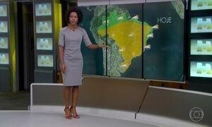 Veja a previsão do tempo para esta sexta-feira (16) para todo o Brasil
