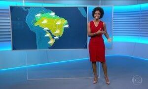 Frio se espalha por algumas áreas do país nesta terça-feira (20)