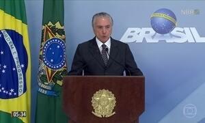 PF diz ter encontrado evidências que indicam existência de corrupção praticada por Temer
