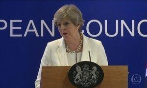 Líderes europeus discutem saída do Reino Unido da União Europeia