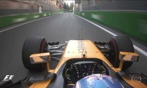 Grande prêmio do Azerbaijão de F1 acontece nesse domingo (25)
