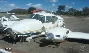 PF diz que piloto de avião interceptado em GO mentiu para FAB