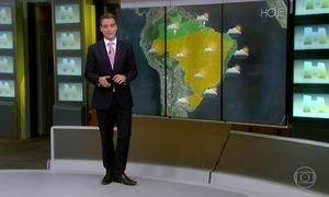 Chuva continua concentrada entre o Nordeste e o Norte do país