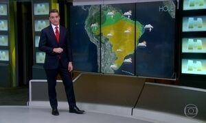 Massa de ar seco tem força e o tempo seco e firme em boa parte do Brasil