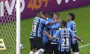 Grêmio vence a Ponte Preta; veja os gols do Fantástico