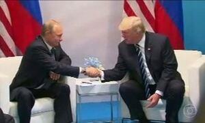 Donald Trump e Vladmir Putin conversaram por três horas durante o G-20