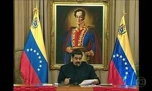 Maduro critica planos de Trump de aplicar sanções contra a Venezuela