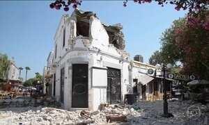 Terremoto de 6.7 de magnitude atinge Turquia e Grécia e deixa 200 feridos