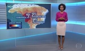 Confira a previsão do tempo para o sábado (22) em todo o país