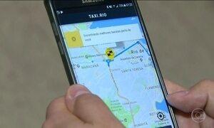Aplicativo de transporte público é testado no Rio