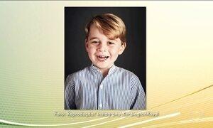 Príncipe George, filho de William e Kate, completa 4 anos
