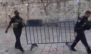 Governo de Israel retira detectores de metal instalados na Esplanada das Mesquitas