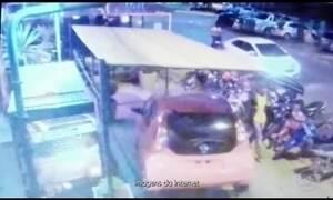 Imagens de câmera de segurança mostram ataque que matou 4 brasileiros no Paraguai