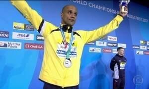João Gomes Júnior conquista a medalha de prata no Mundial de Esportes Aquáticos