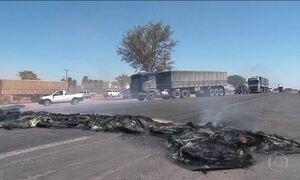 Protesto de caminhoneiros do RS contra aumento dos combustíveis completa uma semana