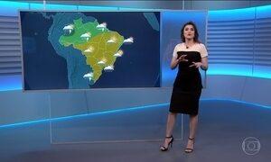 Confira a previsão do tempo para a quinta-feira (10) em todo o país