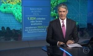 Firjan diz que quatro mil cidades do país têm situação fiscal difícil ou crítica