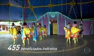 Criança Esperança: Em Goiás, muitas vidas se transformam com ajuda do circo.