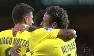 Neymar estreia com gol e Paris Saint-Germain derrota Guingamp por 3 a 0